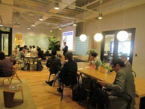 代表廣田によるインキュベーションオフィス、ibb fukuokaビルの紹介