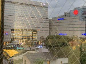 福岡市のシェアオフィスibbTenjinPoint、クリスマスイルミネーション