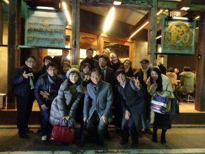福岡市のシェアオフィス、ibbTenjinPointの忘年会
