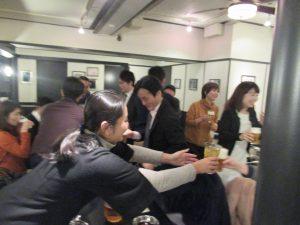シェアオフィスibbTenjinPointの忘年会を開催。