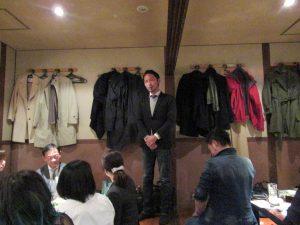 ibb fukuokaビル、春の交流会。福岡市にて