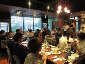 起業家向けのスクール型プログラムibbBizCamp、合同懇親会。