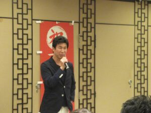 ibbfukuokaビル入居者、㈱フロンティアさん上場記念パーティin香港。