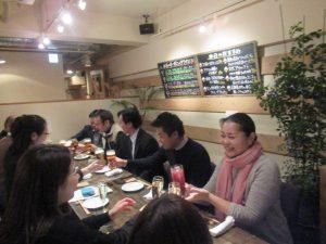 福岡市のシェアオフィスibbTenjinPointの忘年会。