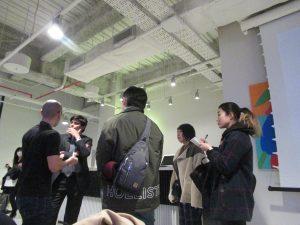 ibb、weworkの合同懇親会。福岡市にて。